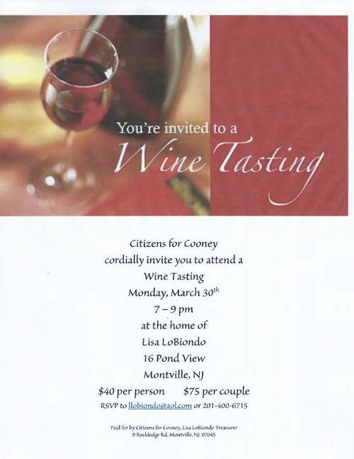 Cooney Wine Tasting Invite 2